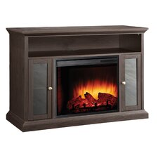 Riley Media Cabinet and Electric Fireplace