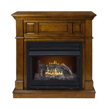 Dual Fuel Vent Free Gas Fireplace