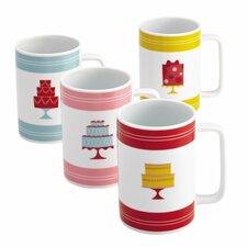 """Mini Cakes"" Mug (Set of 4)"