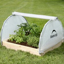 GrowIt® Backyard Raised Bed 4 Ft W x 4 Ft D Greenhouse