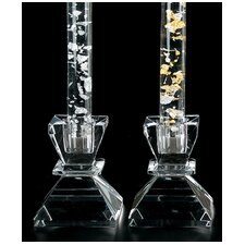 Crystal Candlestick (Set of 2)
