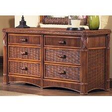 Barbados 6 Drawer Dresser
