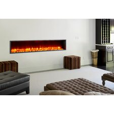 """79"""" Built-in LED Electric Fireplace"""