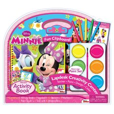 Minnie Lapdesk with Jumbo Paints