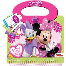 Minnie Style Activity Book Tote