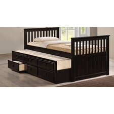 Riley Captain Bed with 3-Drawer Storage