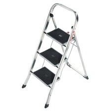 K30 3-Step Aluminum Step Stool with 330 lb. Load Capacity
