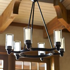 Gramercy 6-Light Oval Chandelier
