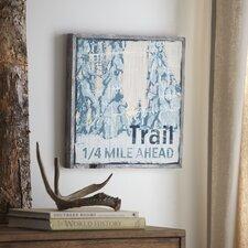 Trail Wood Wall Art