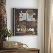Lodge Wood Wall Art