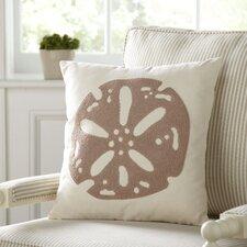 Sand Dollar Ocean Cotton Pillow Cover