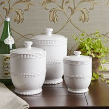 Milford 3-Piece Canister Set