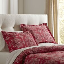 Sandrine Red Duvet Set
