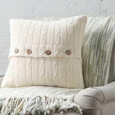 Clara Cable-Knit Pillow Cover