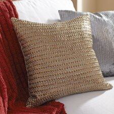 Chantal Sequined Cotton Pillow Cover