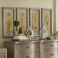 Blossom Sketch Framed Prints (Set of 4)