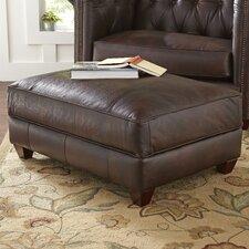 Hawthorn Leather Ottoman