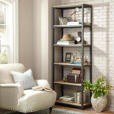 "Owenton 87"" Accent Shelves"
