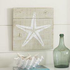 Seascape Starfish Wood Wall Art