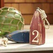 Floating Wood Buoy Decor (Set of 2)