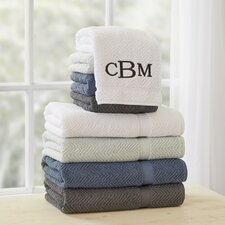 Winchester Monogrammed Towel