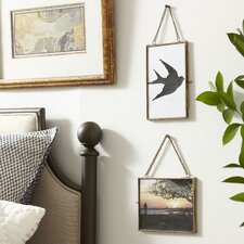 Kieran Hanging Brass Frame (Set of 2)