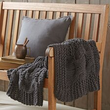 Effie Cable-Knit Throw