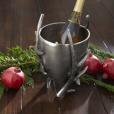 Antiqued Antler Ice Bucket
