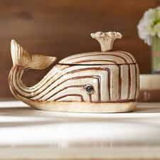 Ceramic Whale Box