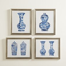 Porcelain Vase Framed Print Collection