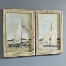 Sailboat Framed Prints (Set of 2)