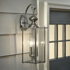 Pellston 2-Light Outdoor Wall Sconce