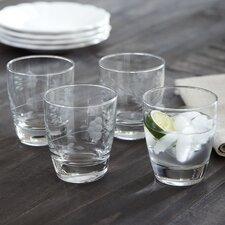 Eckhart Double Old-Fashioned Glasses (Set of 4)