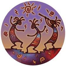 Kokopelli Dance Coaster (Set of 4)