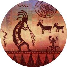 Kokopelli Petroglyph Coaster (Set of 4)