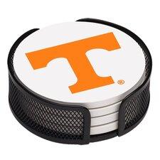 5 Piece University of Tennessee Collegiate Coaster Gift Set