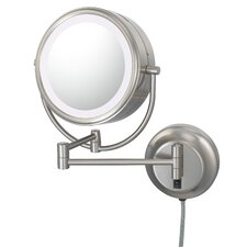 Kimball & Young NeoModern LED Lighted Plug-in Wall Mirror