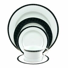 Black Tie 5 Piece Place Setting