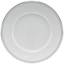 "Platinum Beaded Pearl 10.75"" Dinner Plate (Set of 4)"