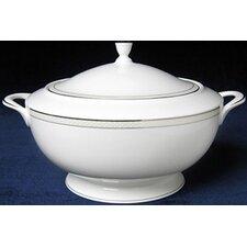 Platinum Beaded Pearl Covered Vegetable Bowl