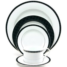 Black Tie Dinnerware Collection