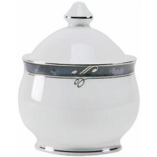 Sentiments Moonstone Sugar Bowl with Lid