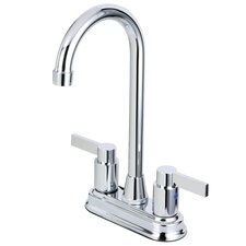Nuvofusion Double Handle Centerset Kitchen Faucet