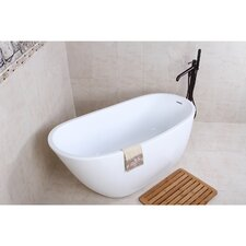 "Aqua Eden 59"" x 29.13"" Soaking Bathtub"