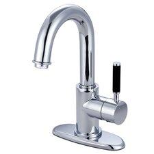 Showerscape Single Handle Bathroom Faucet with Push Pop-Up Drain
