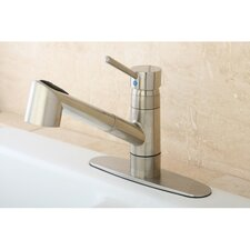 Wilshire Gourmetier Single Handle Pull-Out Spray Kitchen Faucet