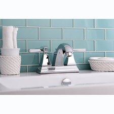 Monarch Double Handle Centerset Bathroom Faucet with Pop-Up Drain