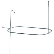 Vintage Shower Ring and Riser Combination