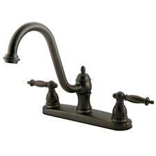 Templeton Double Handle Centerset Kitchen Faucet