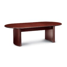 Global Boardroom Racetrack 10' Oval Conference Table